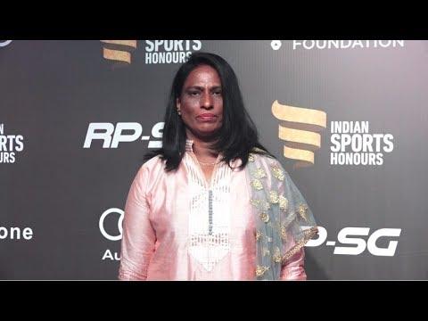 P. T. Usha At Indian Sports Honours Awards 2017