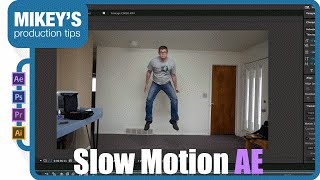 how to do slow motion in After Effects