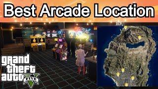 Gta 5 Online | Best Arcade Location For Diamond Casino Heist | Best Arcade To Buy Gta