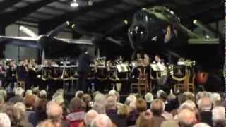 Black Dyke Band with Avro Lancaster Just Jane - The Dambusters March