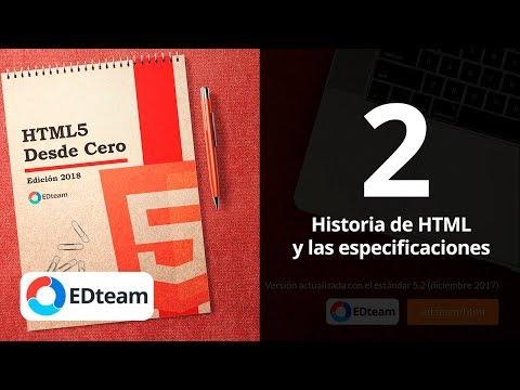 Historia De HTML - Curso HTML5 Desde Cero  (2)