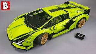 The Impressive LEGO Technic Lamborghini Sian FKP 37 Unbox & Review