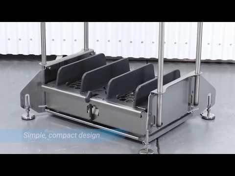 DEMA Walk Through Footwear Sanitizing Machine