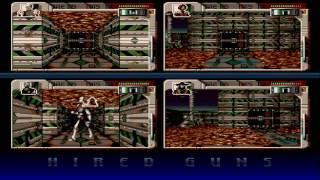 Hired Guns Amiga version gameplay