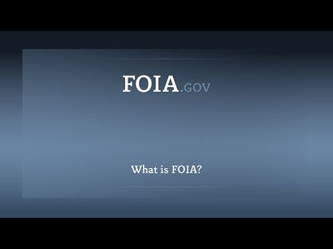FOIA gov - Freedom of Information Act: Frequently Asked