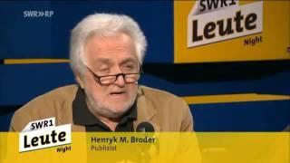 Henryk M. Broder zur EU/Europa Ein Monster frisst die Idee schockierende Fakten & Hintergr