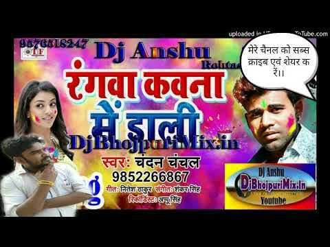 #BHAIYA KE TIN TIN GO SALI!!CHANDAN CHANCHAL!!RANG KOUWNA ME DALI|| HOLI DJ SONG 2019!! DJ ANSHU