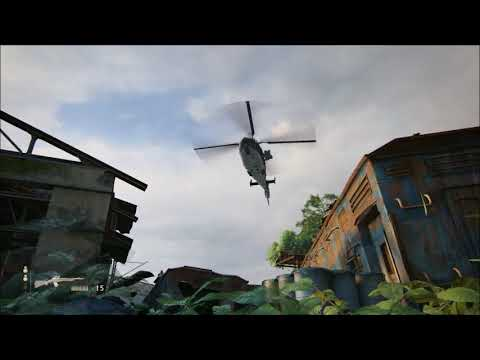 Uncharted: The Lost Legacy - How to beat the helicopter in C