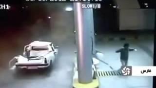 Взрыв, Газового баллона, на авто заправке, из за неправильной эксплуатации, авария, дтп, взрыв(, 2014-11-17T22:05:19.000Z)