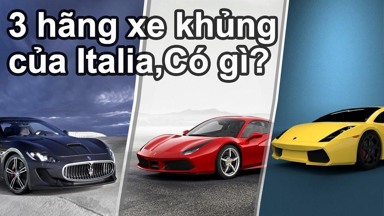 Điều ít biết về Top 3 hãng xe khủng làm nên thương hiệu ô tô của Italia