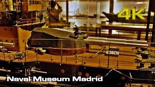 Naval Museum Madrid (a visit) [4K]