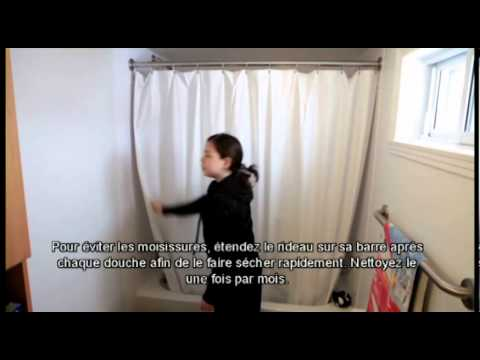 le rideau de douche youtube. Black Bedroom Furniture Sets. Home Design Ideas