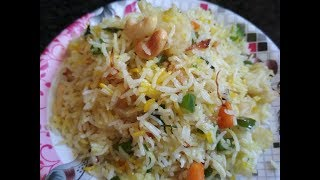 Vegetable Fried Rice Indian Style- Perfect Fried Rice Restaurant Style Recipe