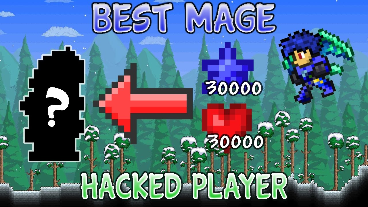 Best Mage Hacked Modded Player Loadout For Terraria 1 2 4 Ios