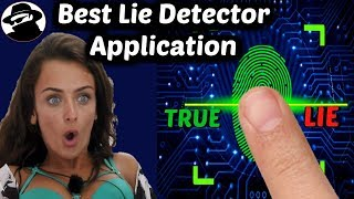 Lie Detector Android Application to Find out the Real Truth . Amazing Application screenshot 1
