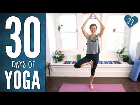 Day 27 - Flexible, Fearless and FUN YOGA - 30 Days of Yoga