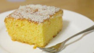 Receita de bolo de Coco Fácil (sem farinha de trigo)