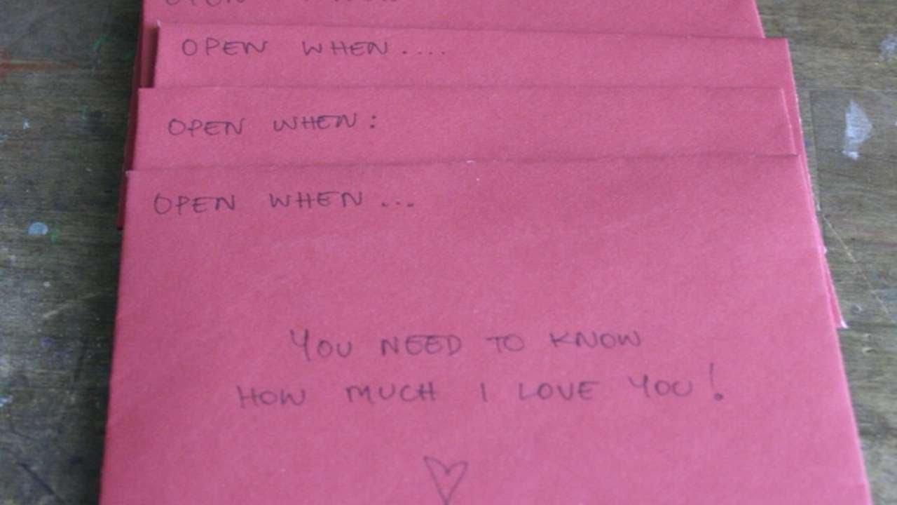 Decorazioni Lettere D Amore prepara lettere d'amore per varie occasioni - fai da te creazioni -  guidecentral