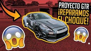 REPARAMOS EL #GTR CHOCADO - Proyecto Nissan GTR EP.3