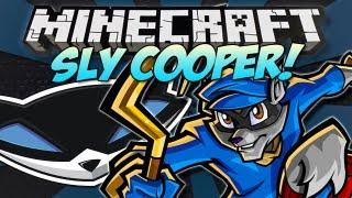 Minecraft | SLY COOPER! (Thievius Raccoonis!) | Mod Showcase [1.4.7]