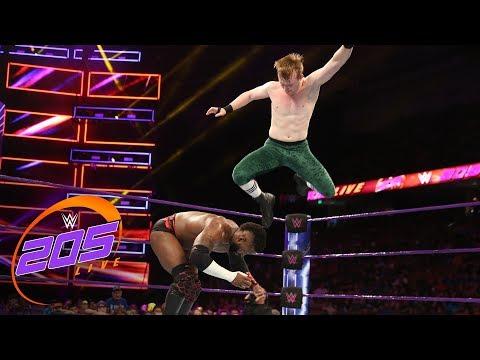 Cedric Alexander vs. Gentleman Jack Gallagher: WWE 205 Live, Aug. 14, 2018