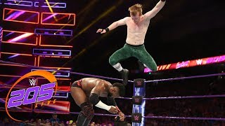 Cedric Alexander vs. Gentleman Jack Gallagher: WWE 205 Live, Aug. 14, 2018