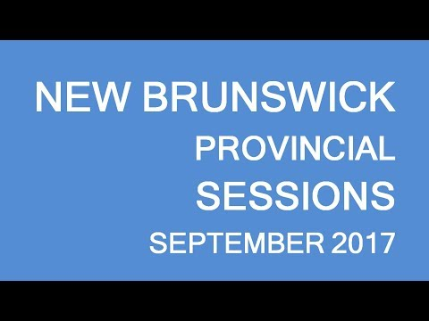 New Brunswick Provincial sessions, September 2017. LP Group Canada