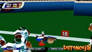 NFL Blitz 2001 Gameplay (N64 Emulation)