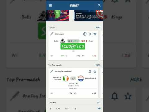 FOOTBALL BETS    TENNIS BETS    HOW TO WIN FROM 1XBET    HOW TO MAKE NEW ACCOUNT IN 1XBET