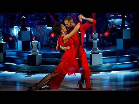 Natalie Gumede and Atem Argentine Tango to 'Montserrat'  Strictly Come Dancing: 2013  BBC One