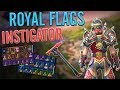 Royal Flags Back Bling on 45 Outfits   Instigator Sound Test - Fortnite
