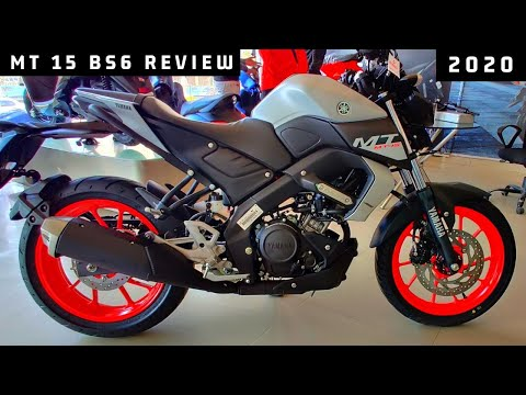 Yamaha MT 15 Bs6 Full Walk-Around Review 2020    4 New Changes    On Road Price ??