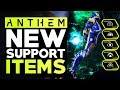 Anthem CATACLYSM UPDATE - All New Upcoming Support Gear Masterwork & Legendary Items