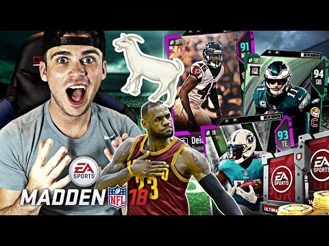 FIRST GAME IN ALL MADDEN! Madden 18 Ultimate Team