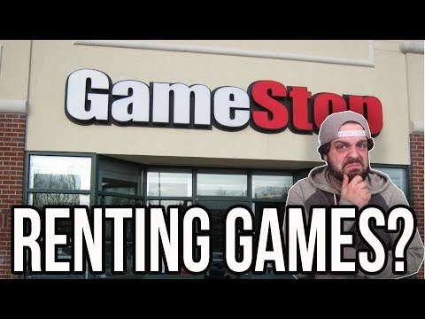 GAMESTOP Renting Games?! Power Pass Unlimited Gaming Details  RGT 85