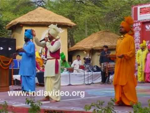 The rhythm of Punjabi folk songs