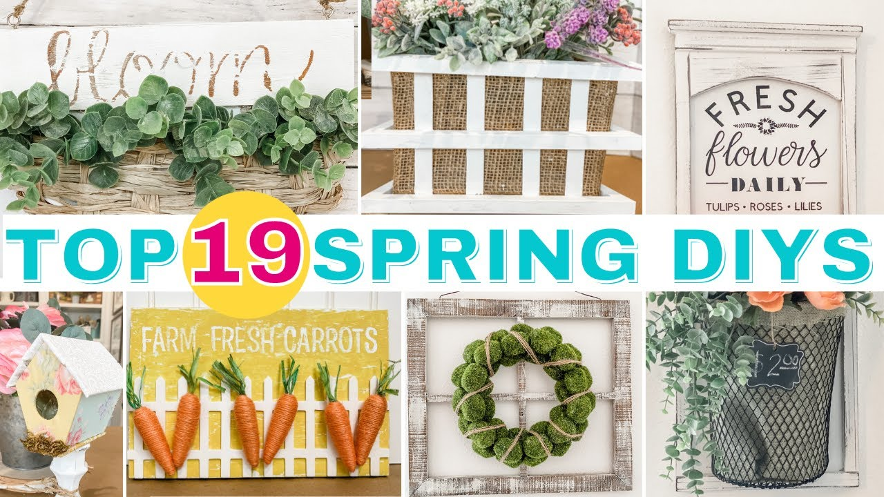 🌼 ABSOLUTE Top 19 BEST Spring DIY Decor On A Budget!  |  Some MUST SEE DOLLAR TREE DIYS!