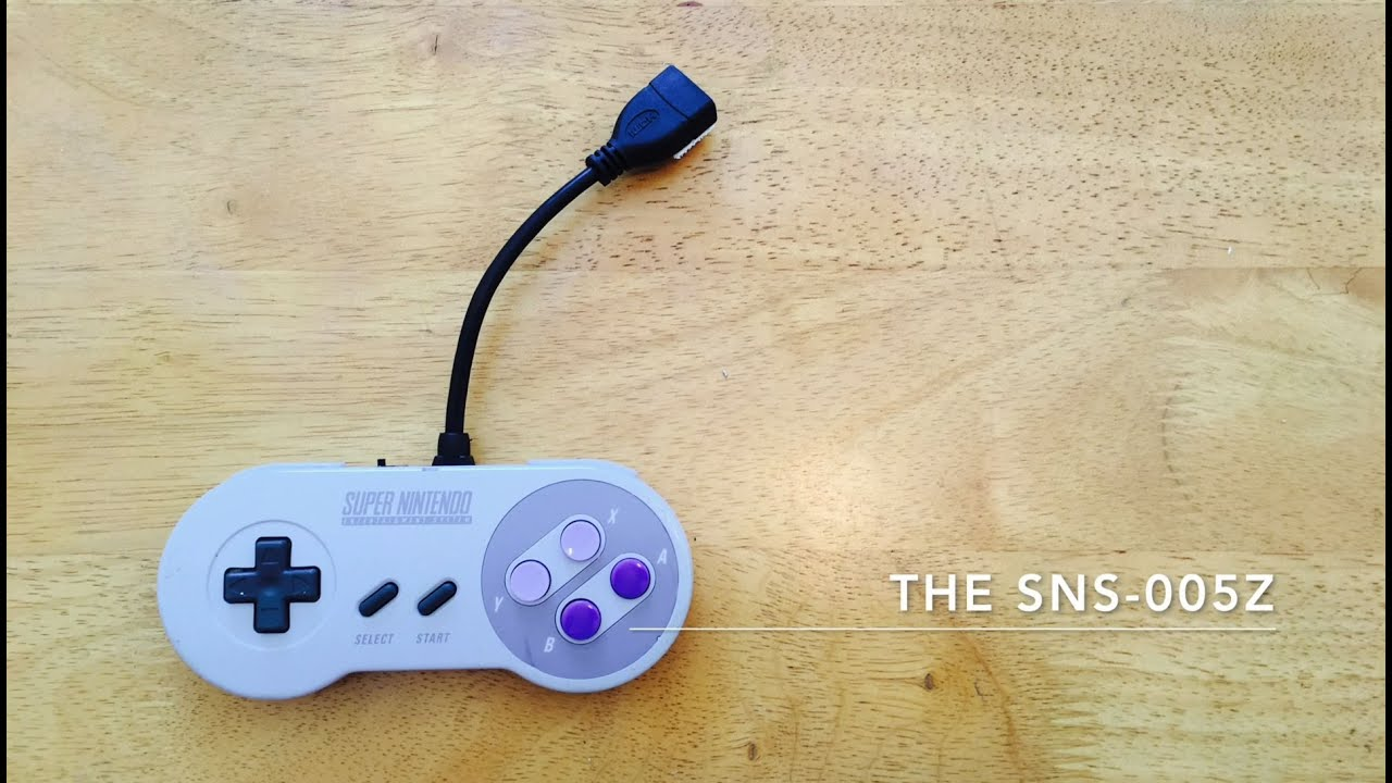 Super Nintendo Controller Wiring Wire Center Hight Quality Integrated Circuit Electronic Components Bc80716w From Raspberry Pi Zero Inside An Snes The Sns 005z Youtube Rh Com Controllers For Pc Nes