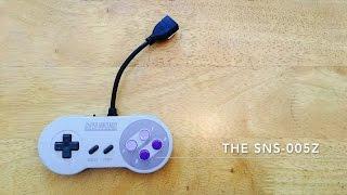 Raspberry Pi Zero inside an SNES Controller - The SNS-005Z