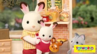 Toyworld NZ - Sylvanian Families Supermarket, Double Decker Bus & Forest Nursery