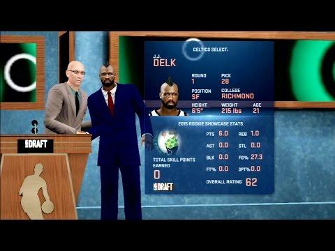 NBA 2K16 Pre-Draft Interview NBA Draft Gameplay PS3 HD