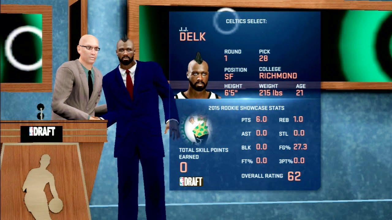NBA 2K16 Pre-Draft Interview NBA Draft Gameplay PS3 HD ...