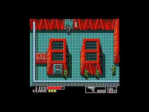Metal Gear (MSX/Xbox 360) Full Playthrough