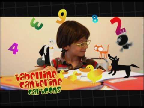 Tabelline Canterine Cartoons - Canzoni per bambini di Mela Music