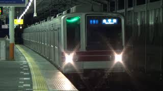 【地上車運用】東武20000系21805F北千住行き入線~発車