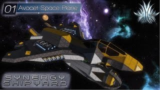 Space Engineers - Synergy Shipyard: Avocet Space Plane