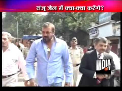 Sanjay Dutt will go to jail tomorrow