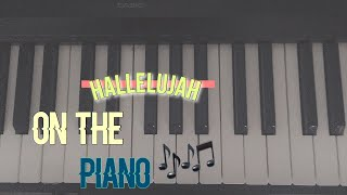 24 HOURS TO LEARN Hallelujah On The Piano