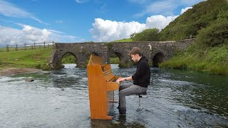 I put my piano in a river just to play 'River Flows in You'