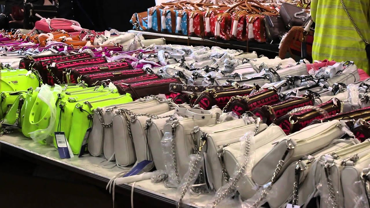 Rebecca Minkoff Sample Sale at 260 Fifth Avenue - YouTube